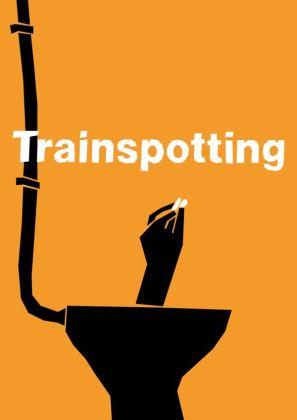 Lewis Varty Trainspotting poster like Saul Bass