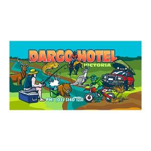 Dargo Hotel - Cartoon Banner