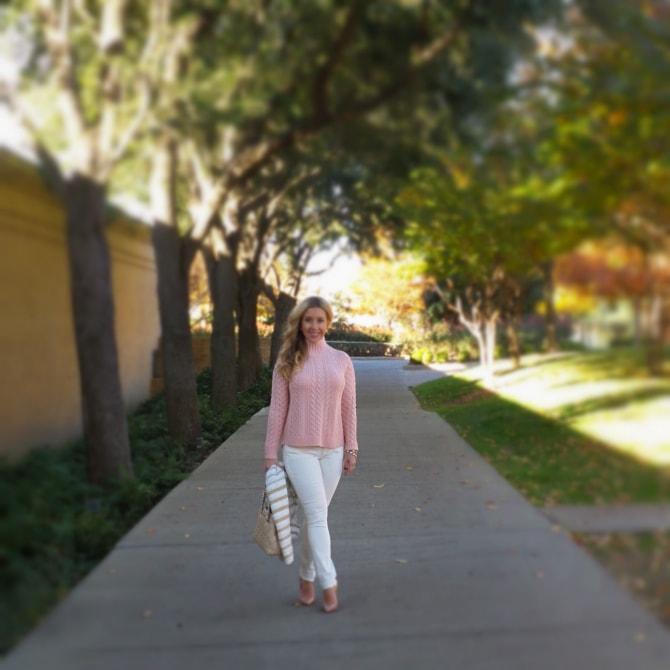 Pink Sweater