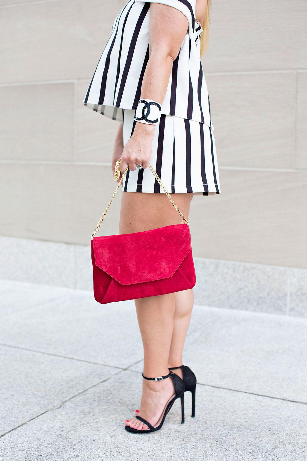 Red Purse - Dallas Fashion Blog