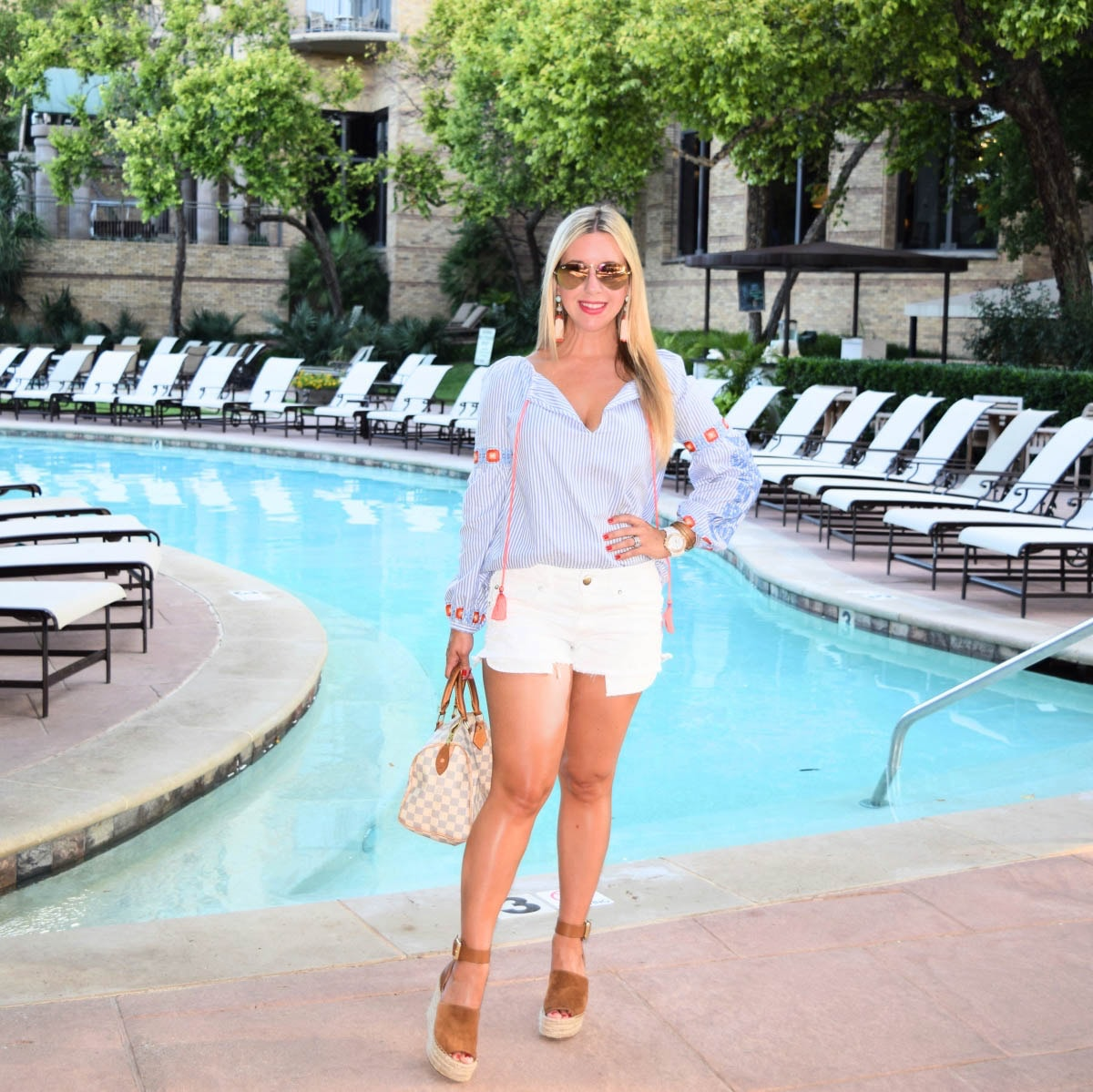 Tory Burch Summer Tunic- Fashion & Lifestyle Blogger in Dallas