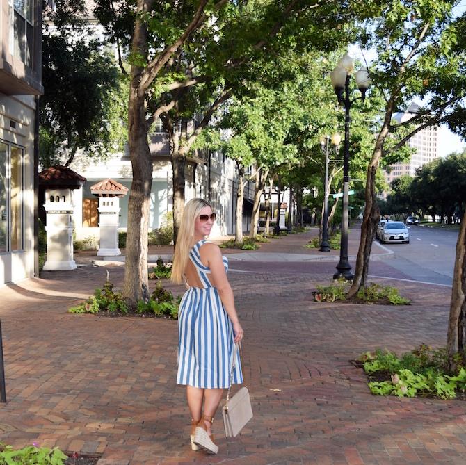 stripe dress 3