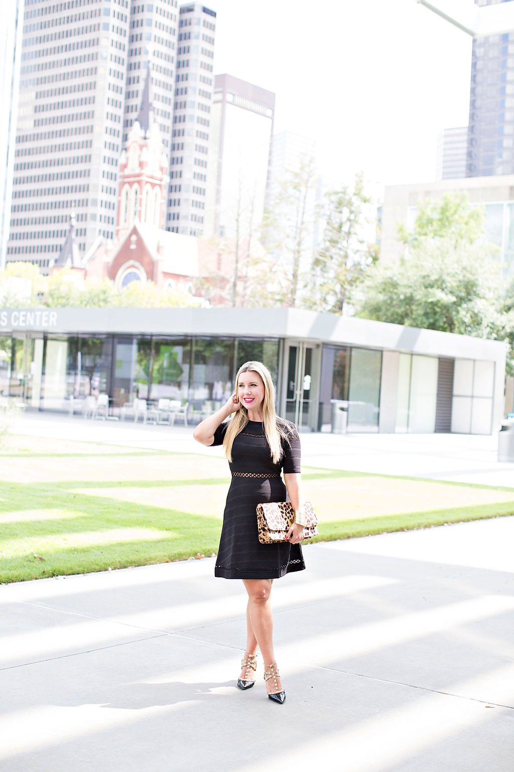 Black Dress - Nordstrom - Dallas Fashion