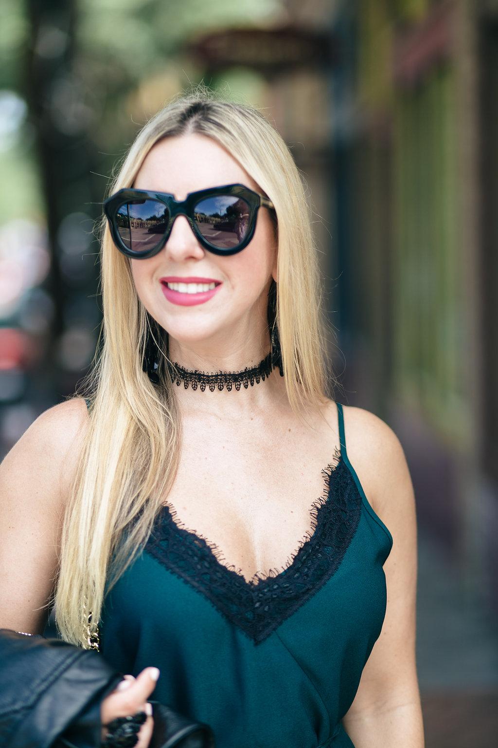 Wrap Slip Dress | Nicole Kirk