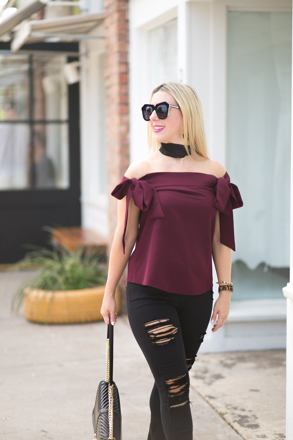 Off Shoulder Top | Nicole Kirk | Blogger