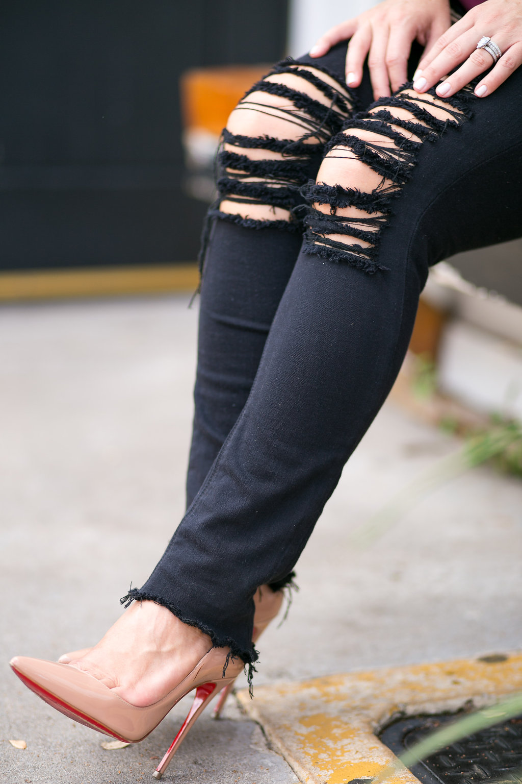 Distressed Denim | Fall Fashion| Dallas Blogger