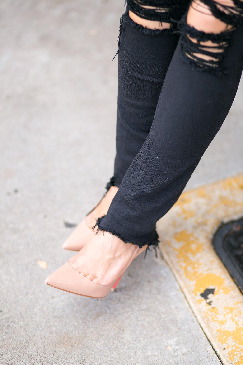 Nude Heels | Dallas Fashion