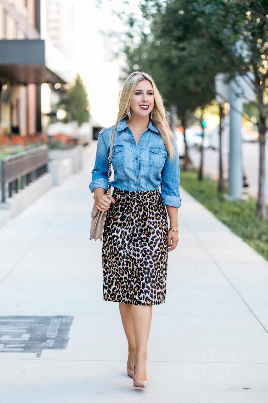 Fall Fashion | Leopard Print | Nicole Kirk