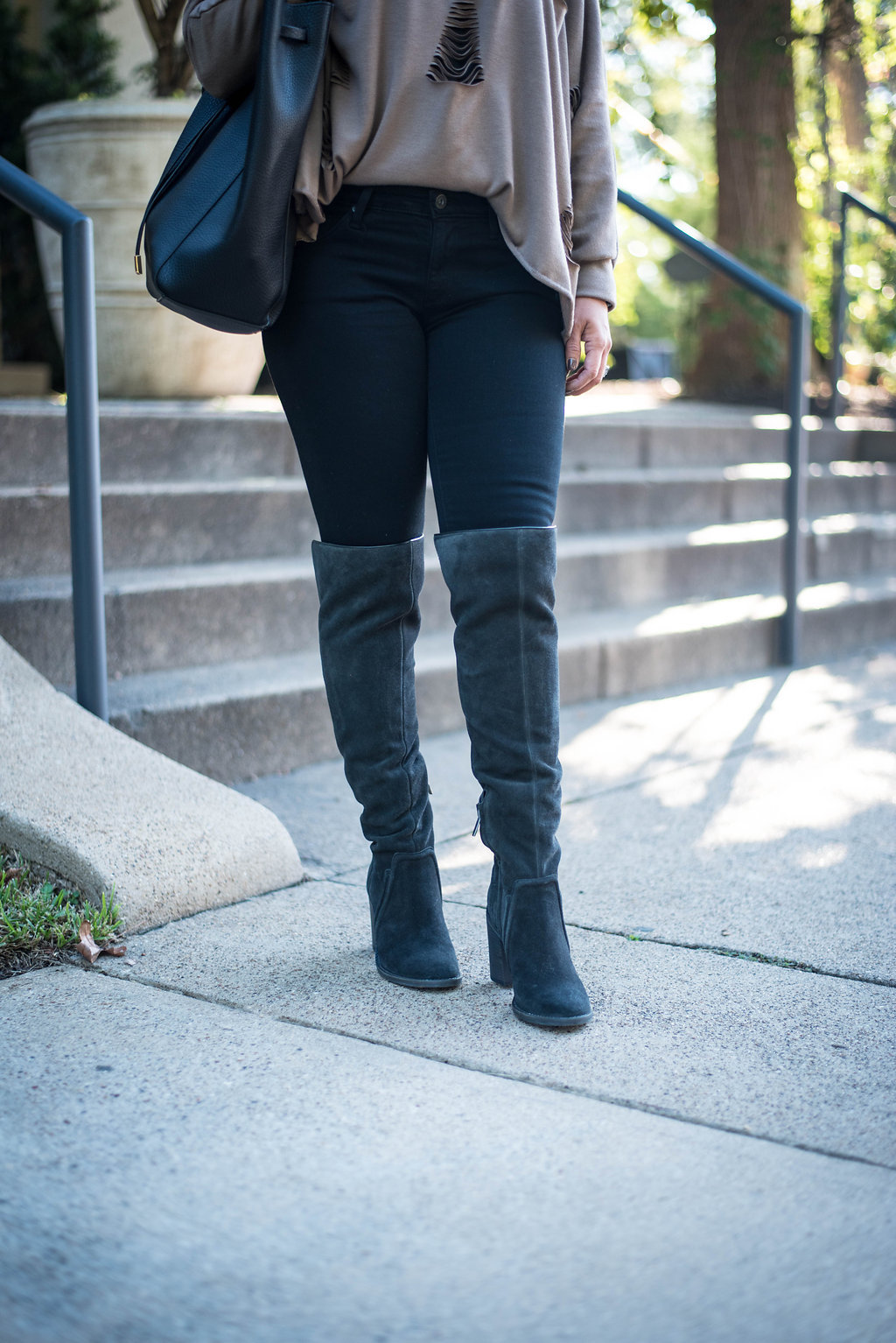 OTK boots| Fall Fashion