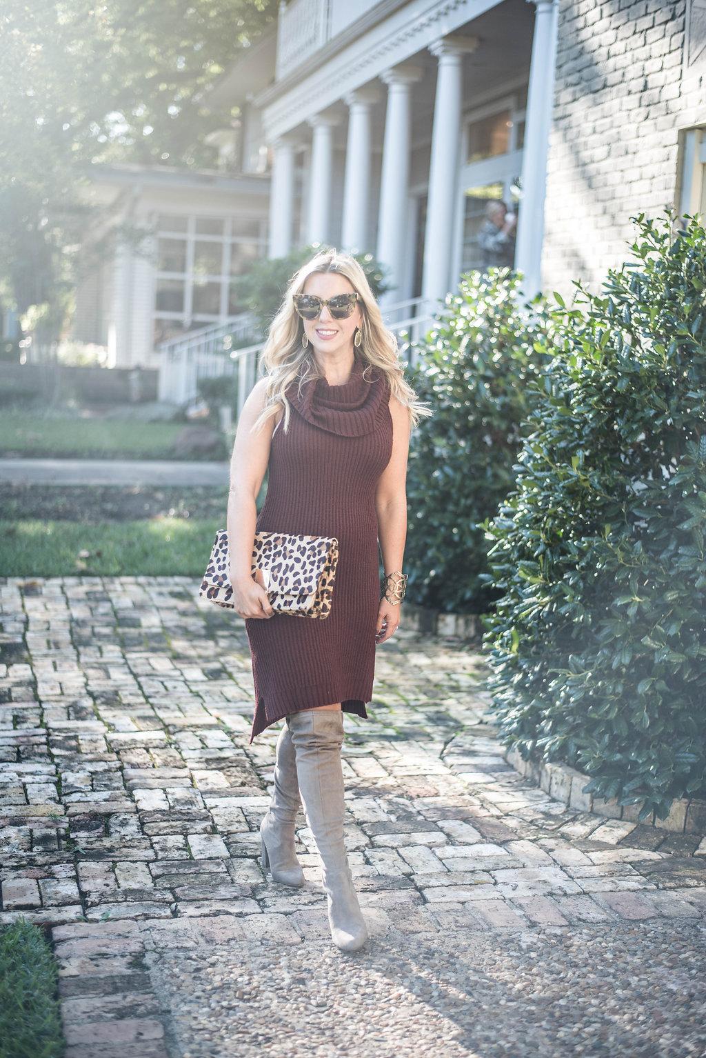 Sweater Dress | Nicole Kirk