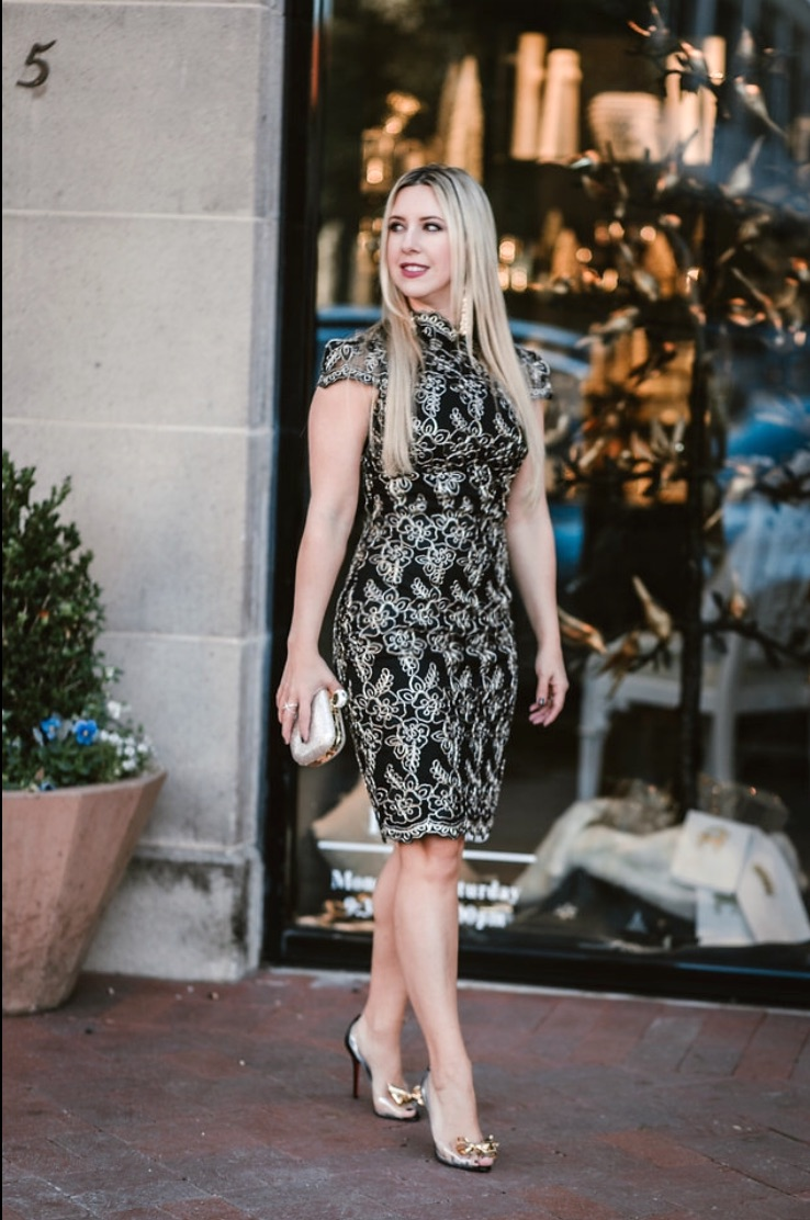Holiday Dress | Dallas Blog | The Darling Petite Diva