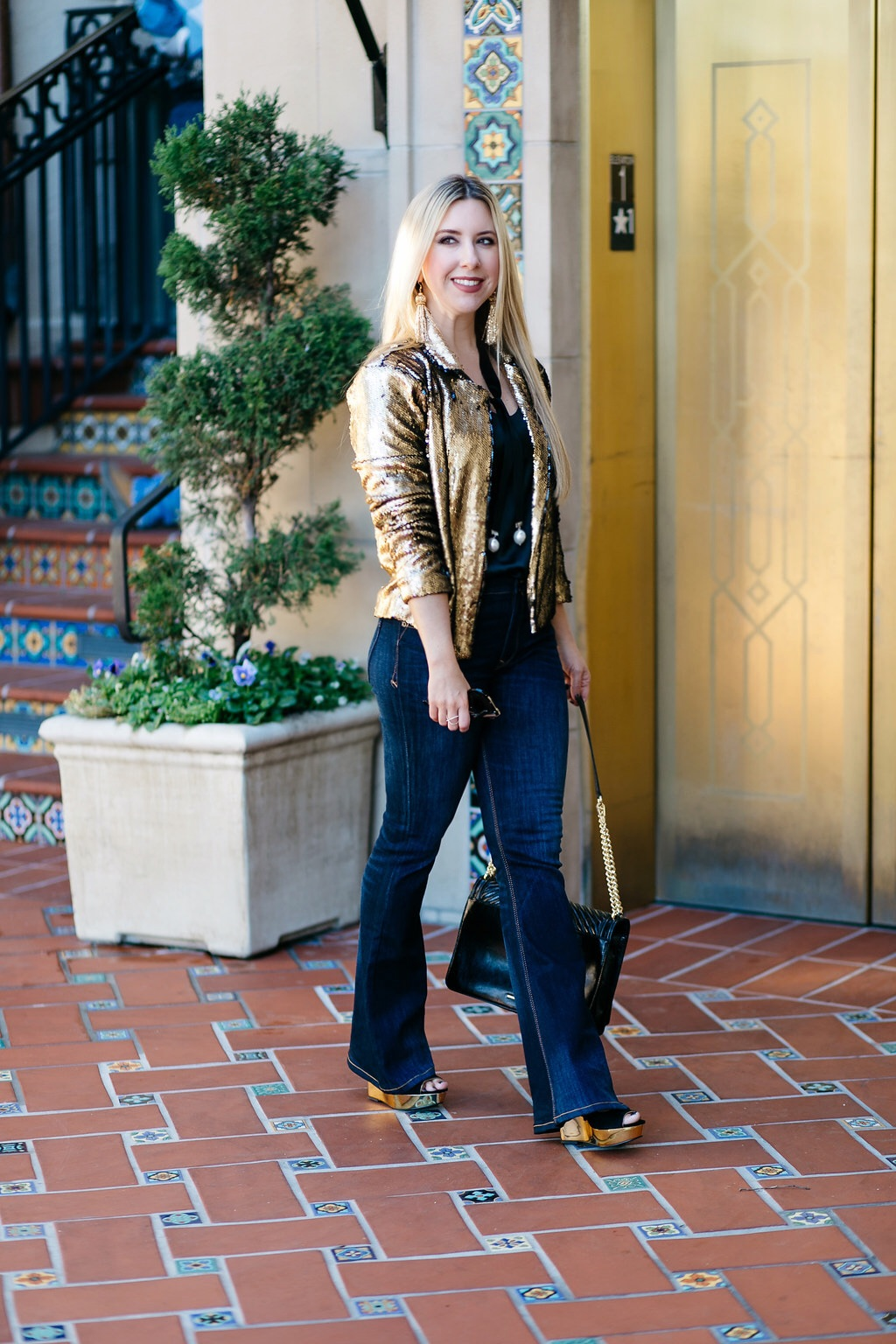 Holiday Look | The Darling Petite Diva