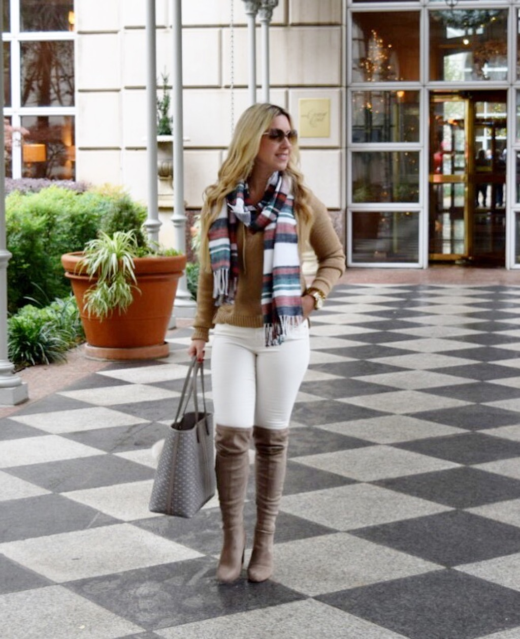 Cross Tie Sweater | The Darling Petite Diva