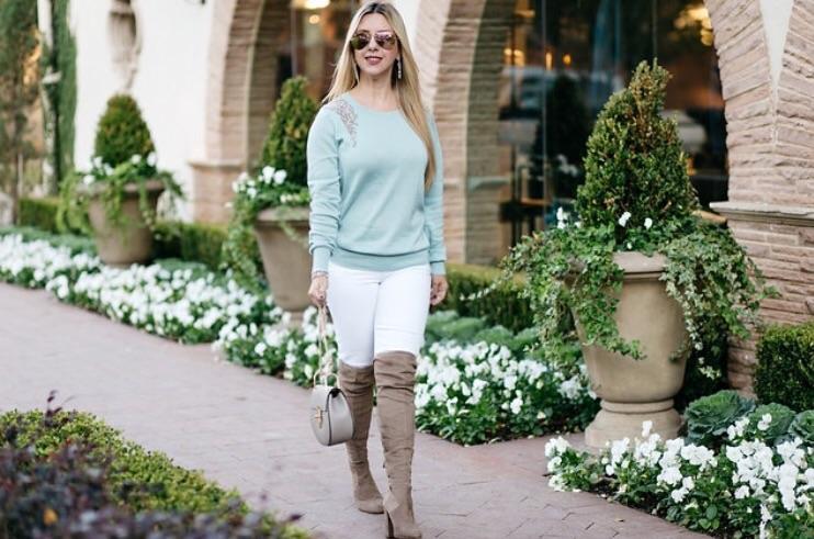 Nicole Kirk | Embellished Sweater