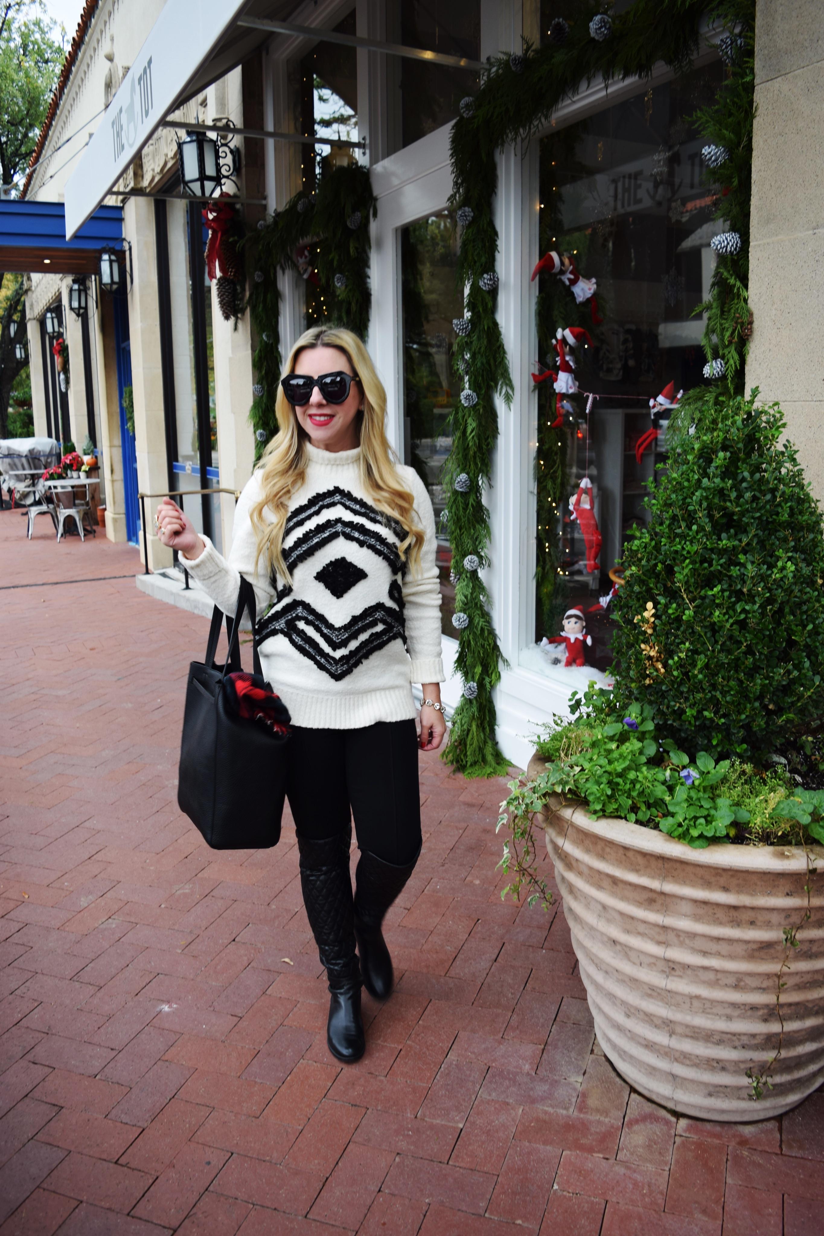 Snowflake Sweater | The Darling Petite Diva