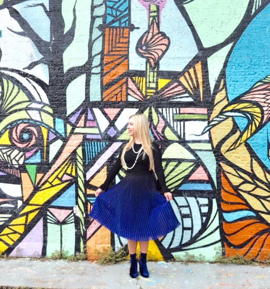 The Darling Petite Diva   Winter Blues
