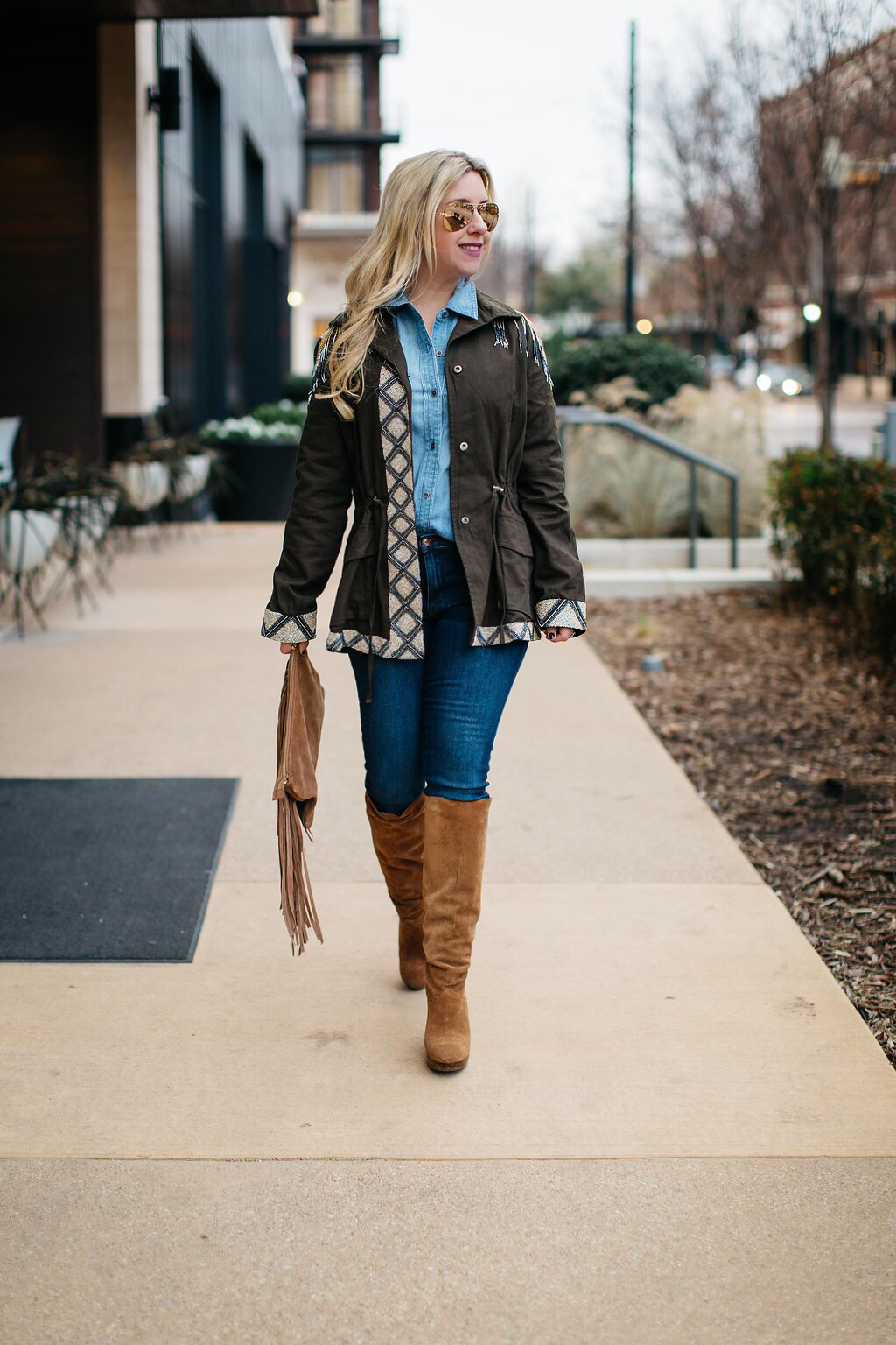 Embellished Cargo Jacket | Nicole Kirk | Dallas