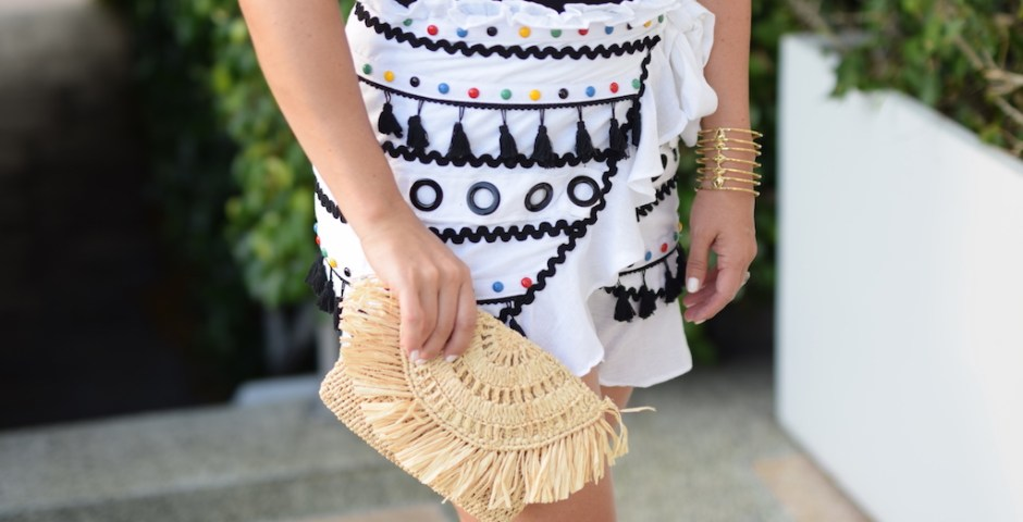 Tassel Skirt | The Darling Petite Diva | Dallas Blogger