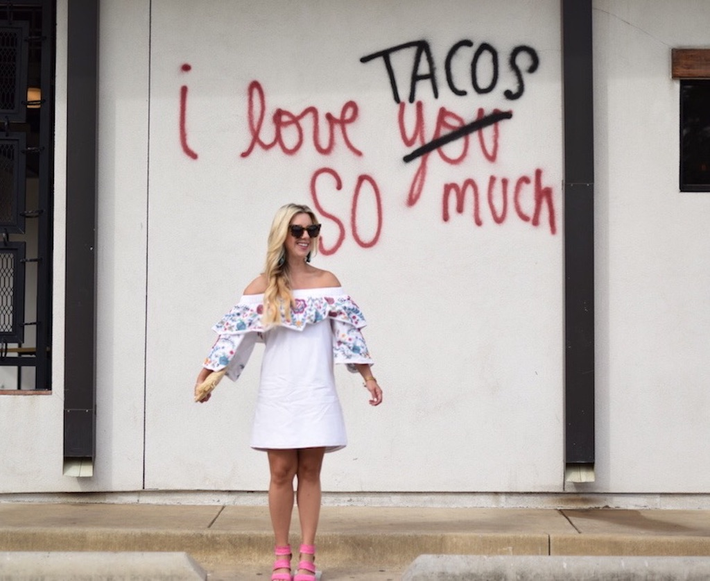Embroidered Dress | Mexican Food Date Night | The Darling Petite Diva | Nicole Kirk