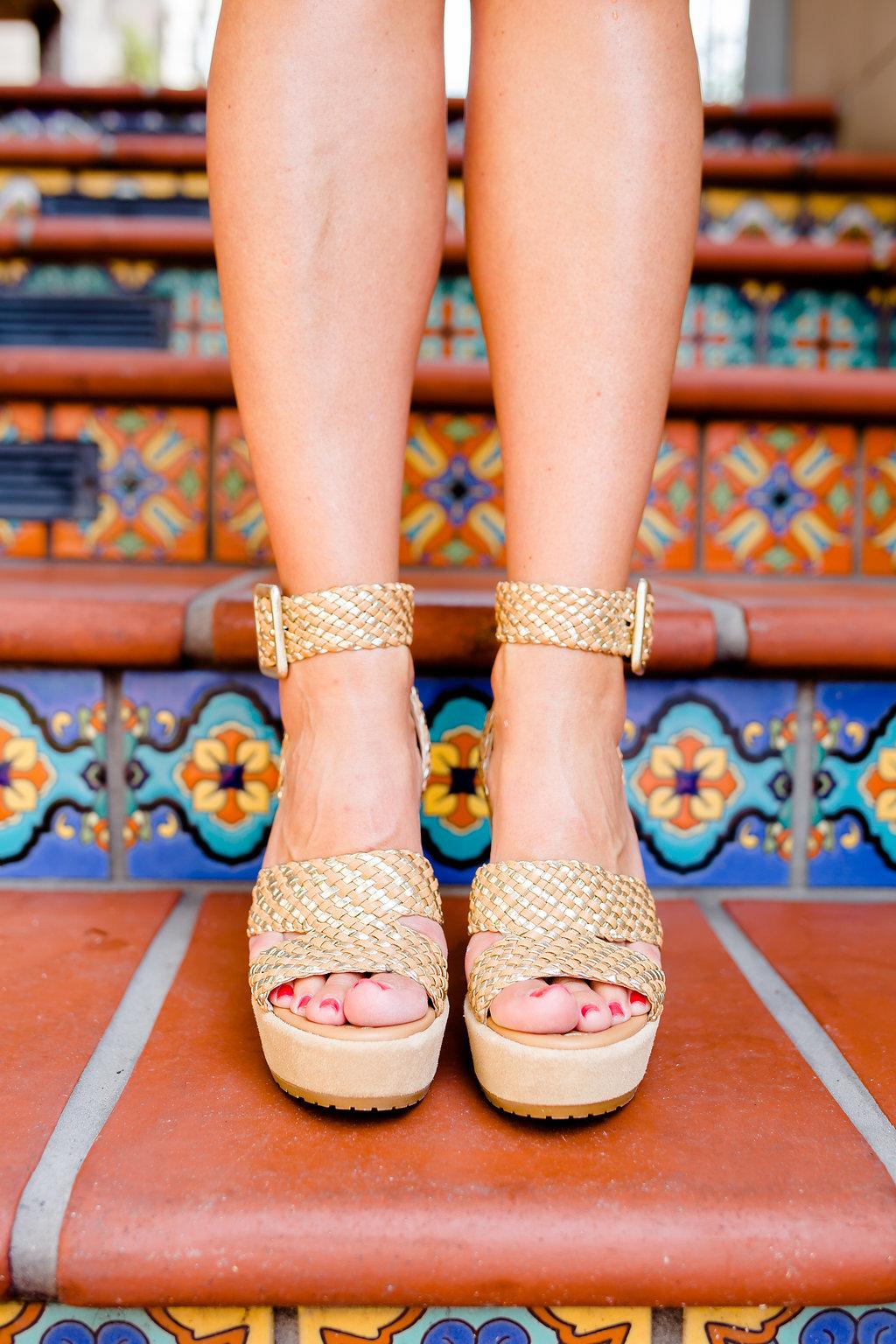 White Eyelet Dress, Neutral Heels, The Darling Petite Diva Blog, Nicole Kirk