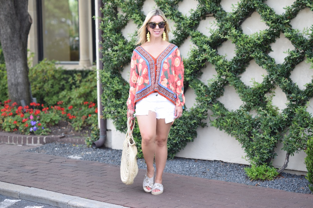 Freshly Squeezed | Orange Slice Top | The Darling Petite Diva