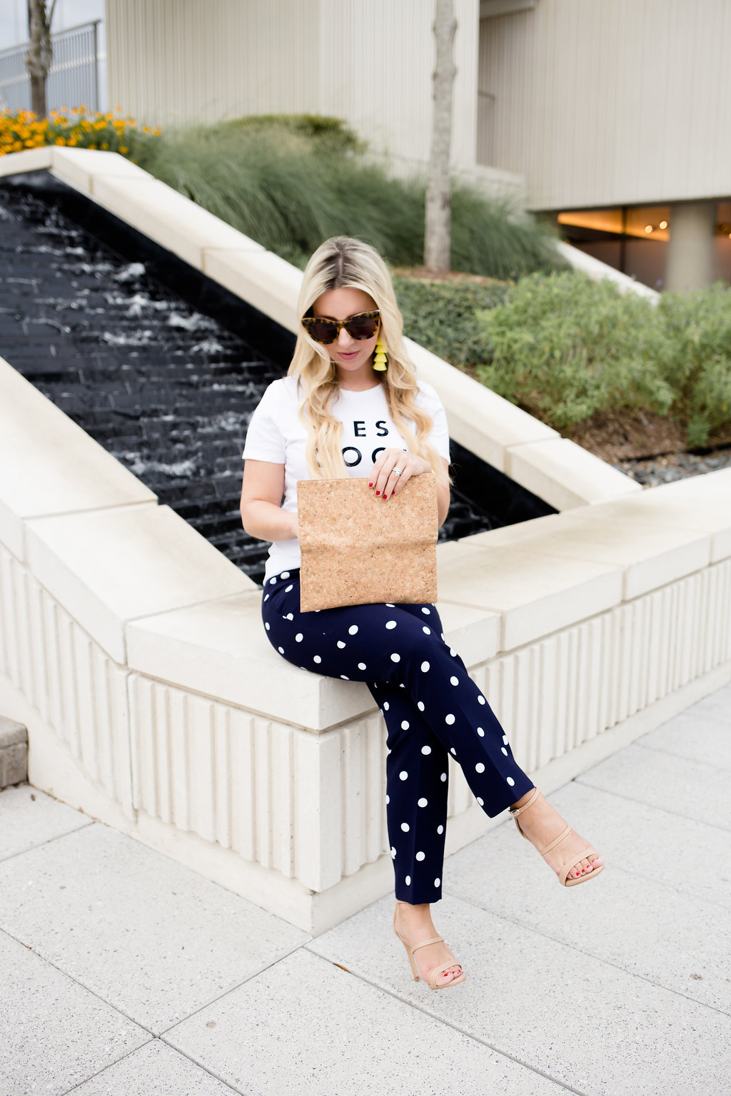 Fancy Pants, Workwear With A Twist | Polkadots | The Darling Petite Diva