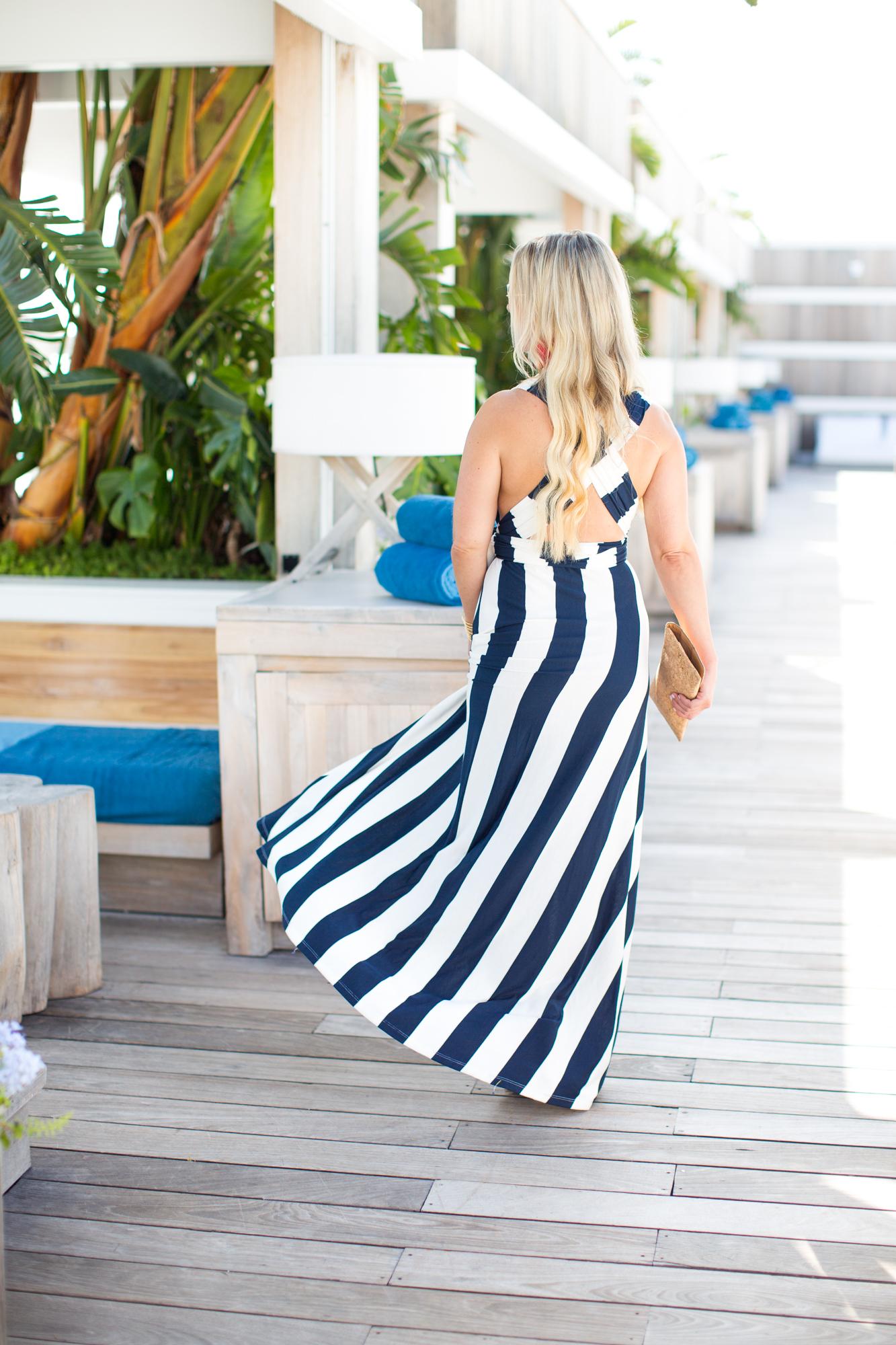Nautical Striped Dress   The Darling Petite Diva   Nicole Kirk   Dallas Blogger