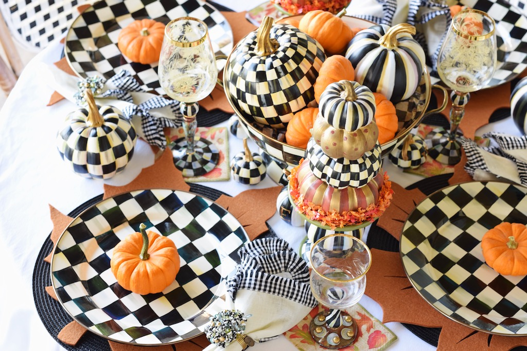 Fall Tablescape Ideas With Mackenzie Childs Fall Decor