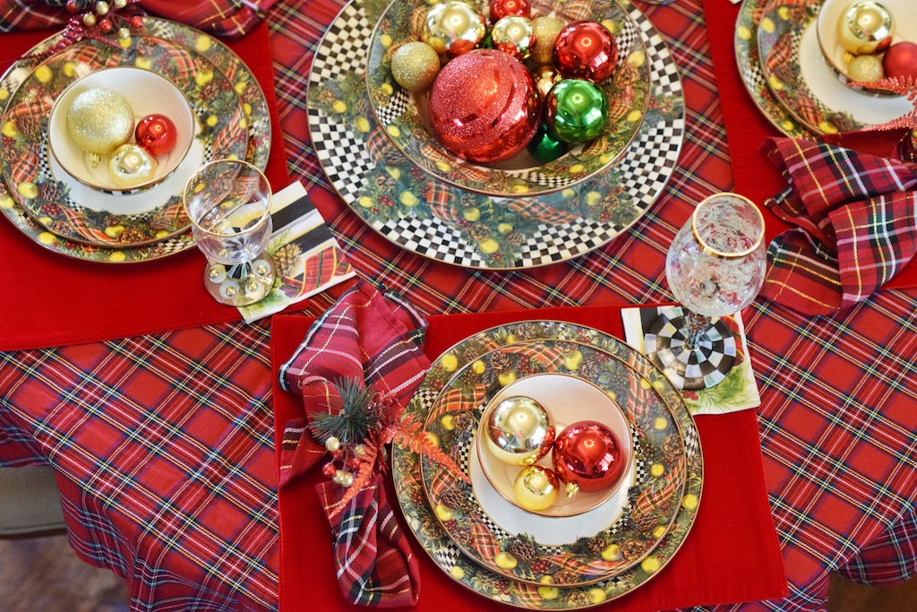MacKenzie-Childs Christmas Tablescapes |