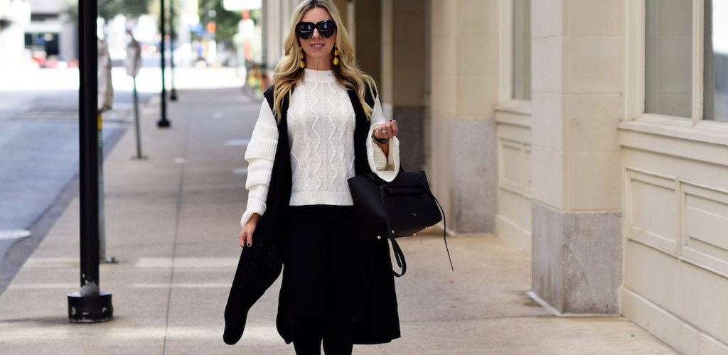 Layering Up With A Sweater Vest