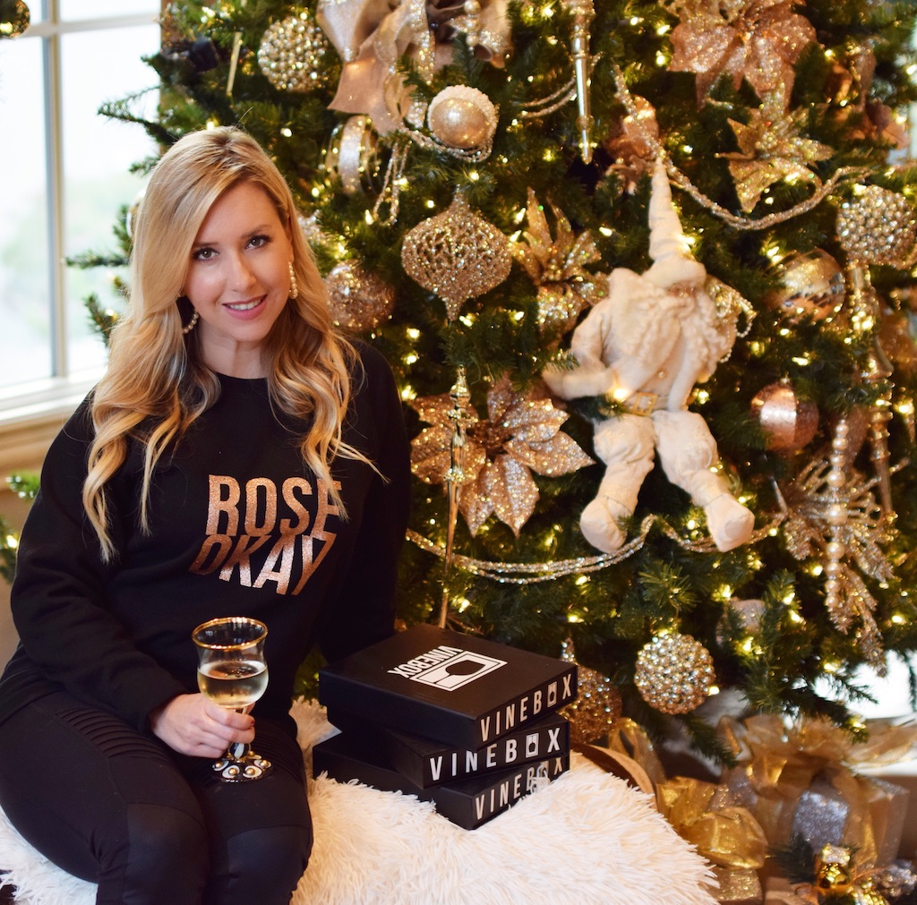 Gift Giving With VINEBOX | Monthly Wine | The Darling Petite Diva