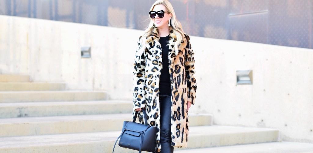 8 Faux Fur Leopard Coats