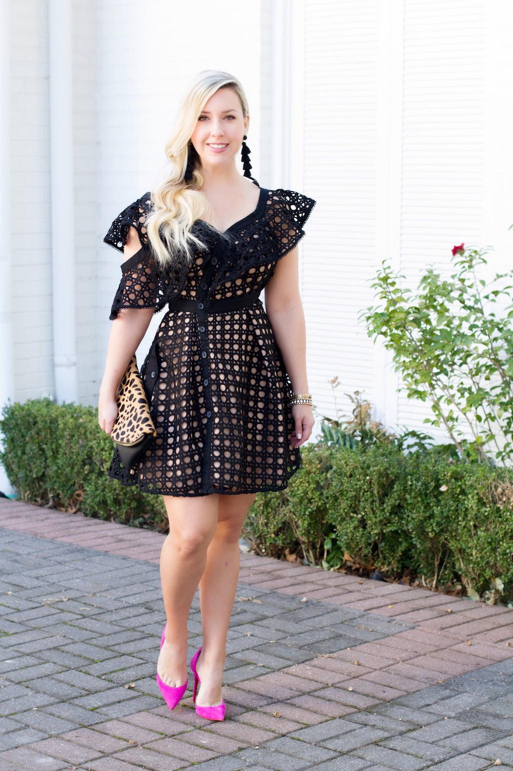 Valentine's Day Lace Dress | Nicole Kirk | The Darling Petite Diva