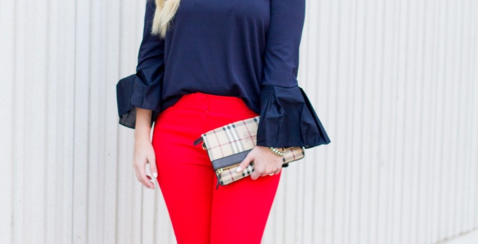 Hot Pants, Red Pants   Spring Look   The Darling Petite Diva