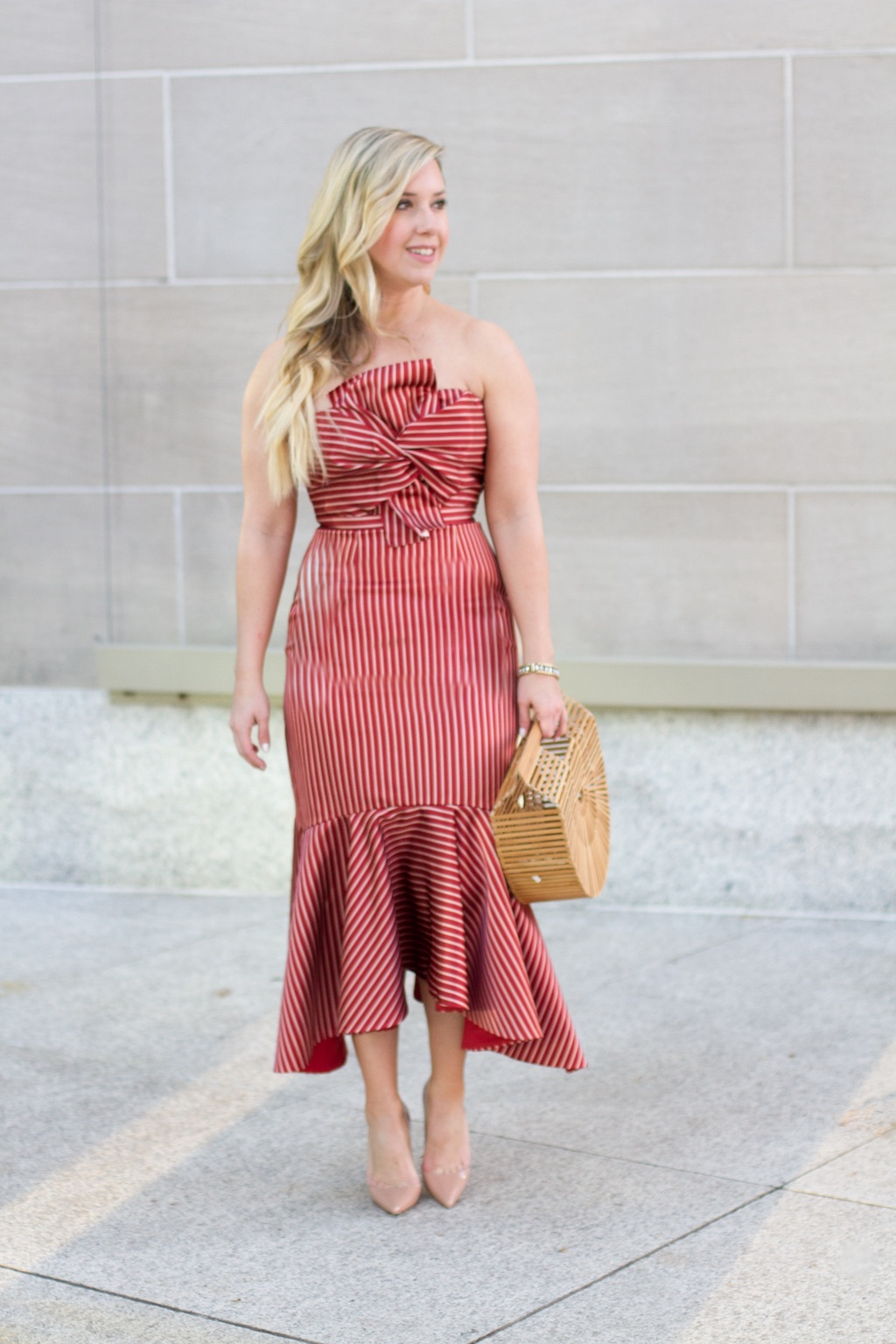 Valentine's Day Red Dress | The Darling Petite Diva
