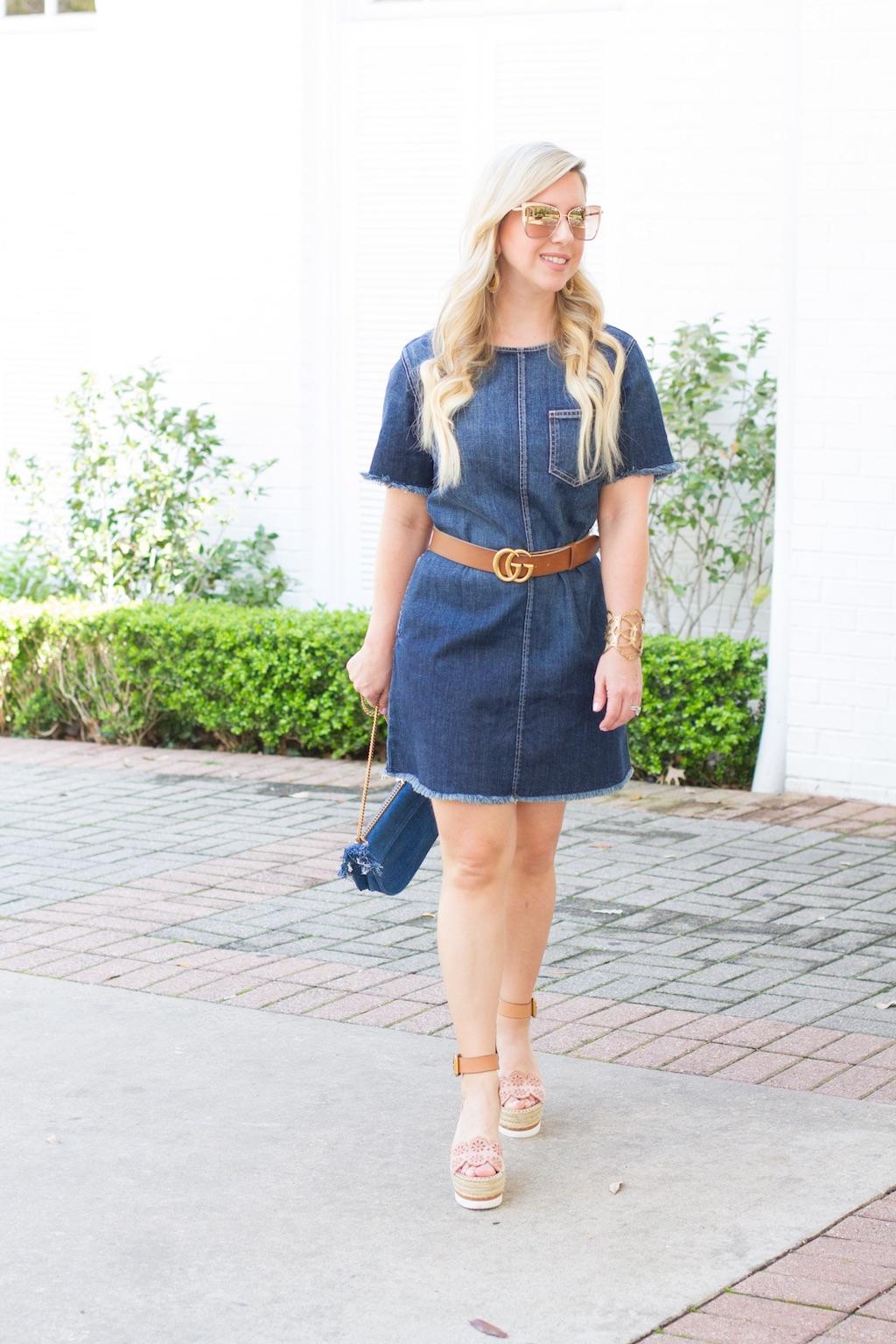 Denim Shift Dress   The Darling Petite Diva