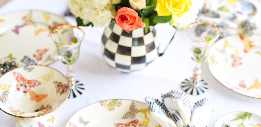 Butterfly Garden Tablescape