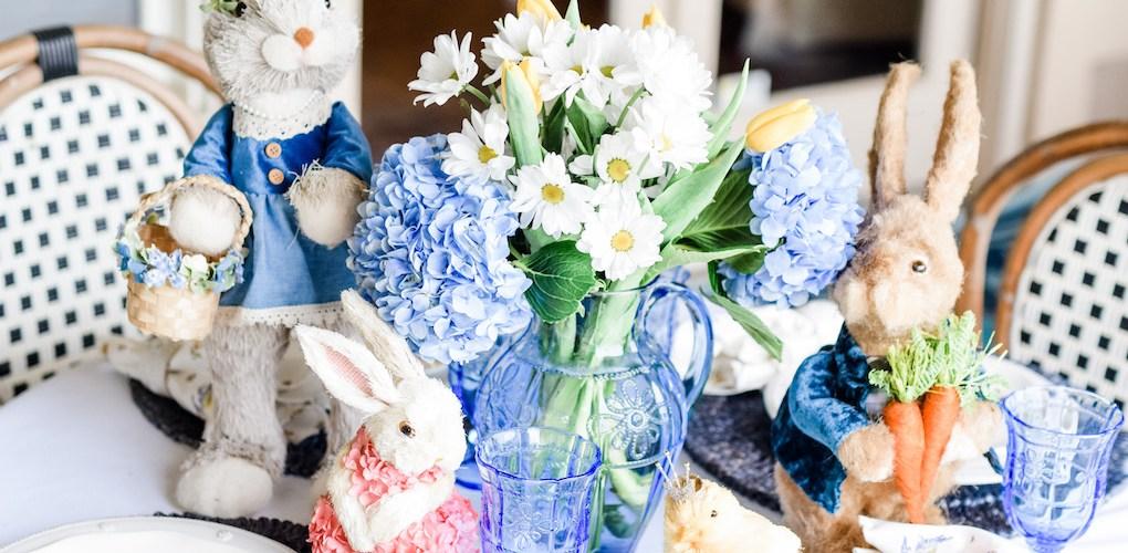 Hop Town Easter Tablescape