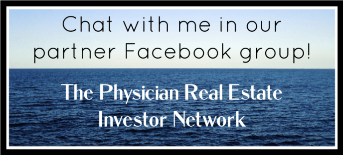 Link to the Physician Real Estate Investor Network Facebook group