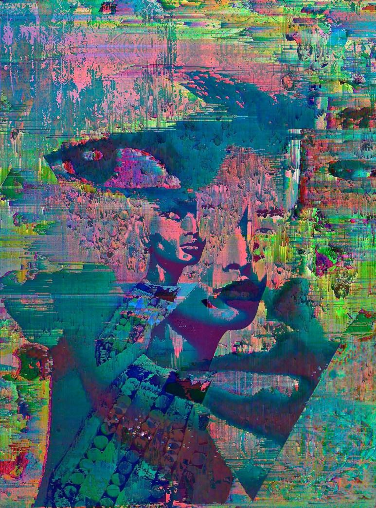 Side Eye 24 x 20 x 1 in Aluminum Print Subject Matter: Identity 2015