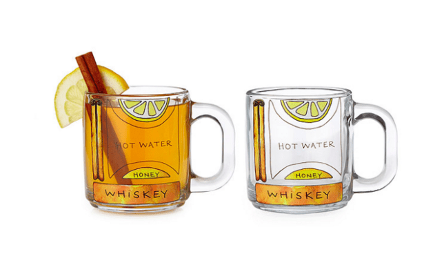 gifts for drinkers - hot toddy glasses -- alcohol gifts from @thedashanddine