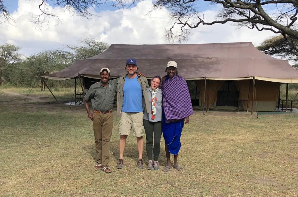 Sam Mike Megan Mchengoi -- Our top 10 favorite safari honeymoon moments