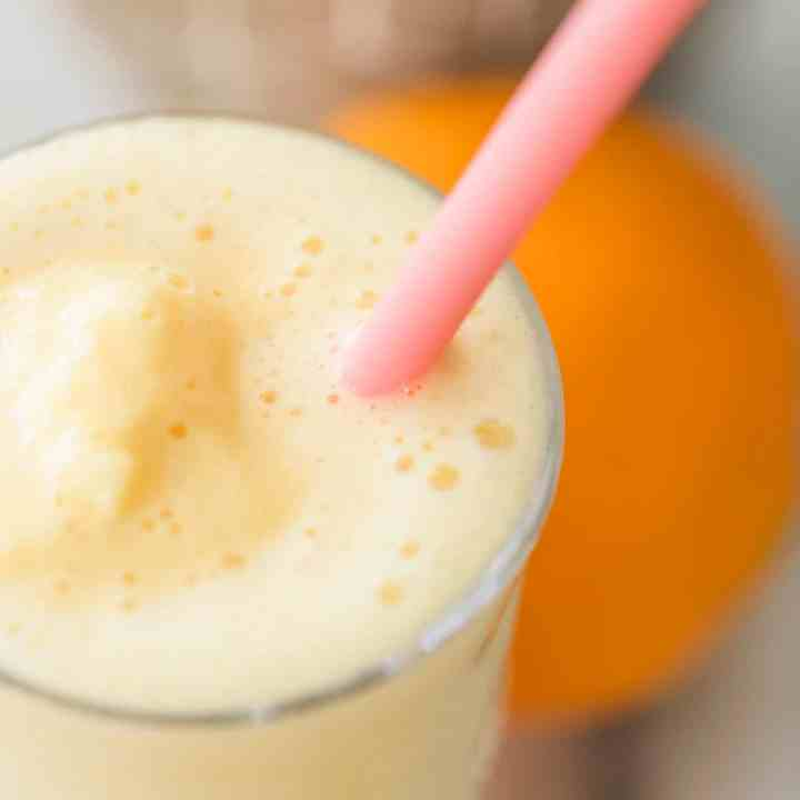 Orange Julius Copycat Smoothie