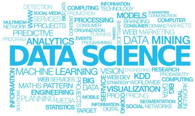 data science course wordcloud
