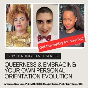 Erin Bianca Manijeh talk about Queerness