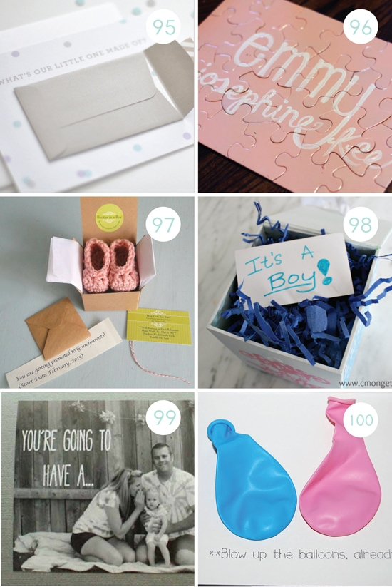 19 Gender Reveal Surprise Party Ideas for Your Husband or