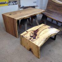 Custom Slab Tables & Live Edge Coffee Tables in San Diego CA
