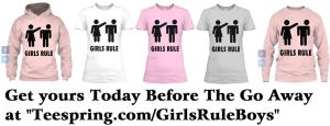 Girls Rule T shirt
