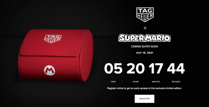Nintendo and Tag Heuer