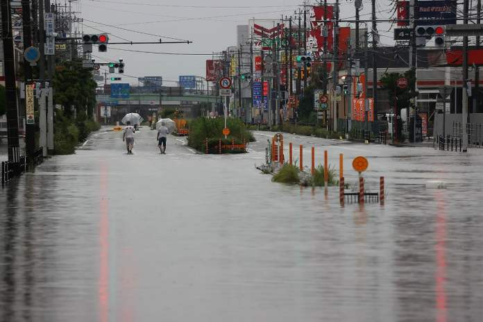 JAPAN-WEATHER-RAIN-FLOOD